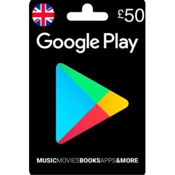گوگل پلی50پوندی انگلیس