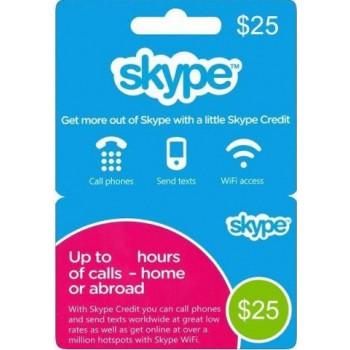گیفت کارت 10 دلاری اسکایپ