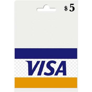 ویزا مجازی 5 دلاری