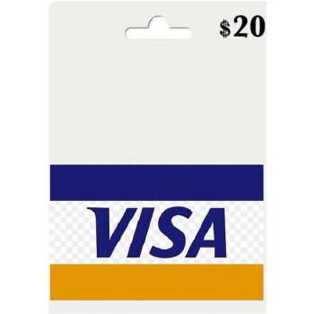 ویزاکارت مجازی 20 دلاری