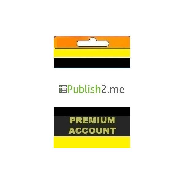 اکانت Publish2.me