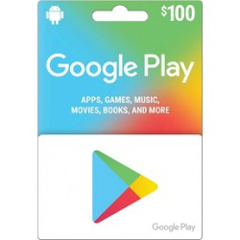 گوگل پلی 100دلاری